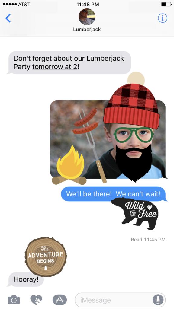 App Store Stickers - Lumberjack